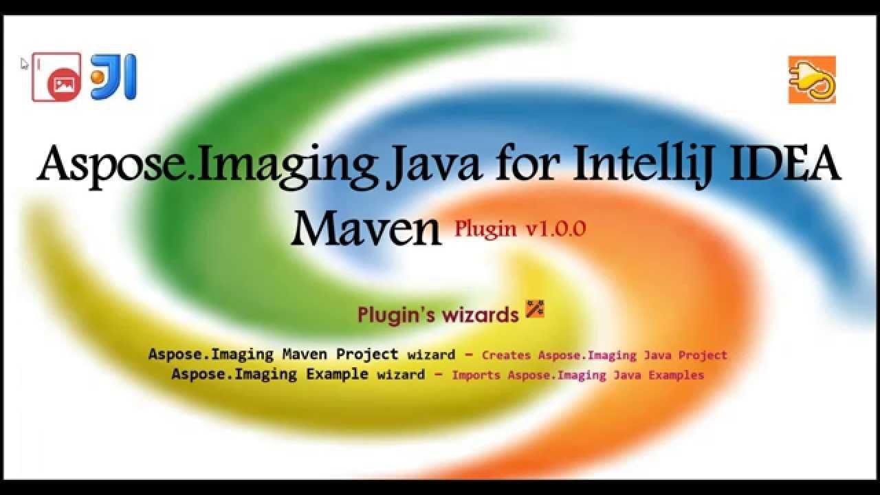 Aspose Imaging Java for IntelliJ IDEA - Maven - Aspose