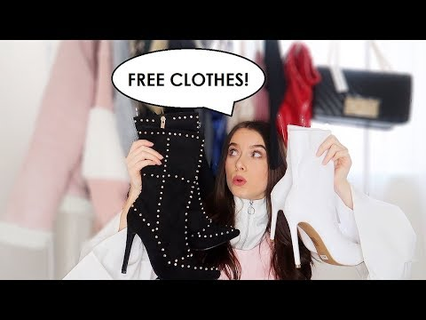 MASSIVE PR TRY ON HAUL | Fashion, Beauty, Hair Care, Shoes & Bags! | Ames.