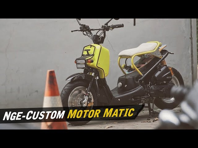 Custom Honda Beat Pop Jadi Zoomer #AtenxKatros