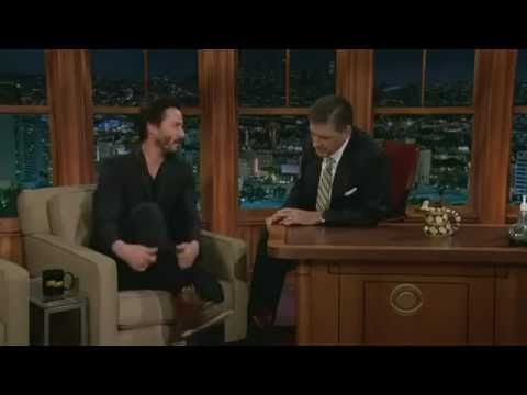 Keanu Reeves at The Late Late Show 03.10.2012