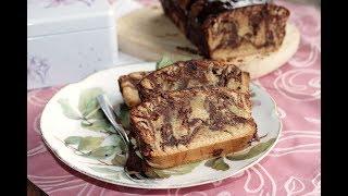 Венецианский мраморный пирог. Рецепт под видео. Домашний ресторан®
