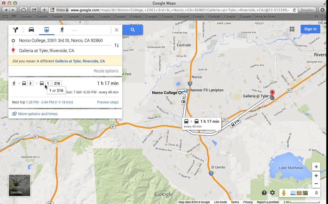 googel transit trip planner youtube