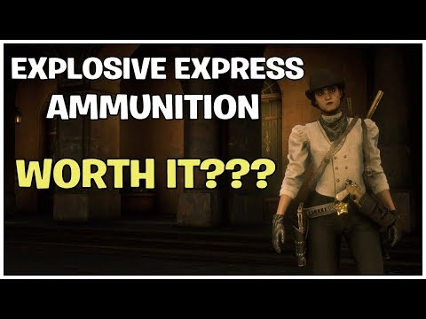 RED DEAD REDEMPTION 2 ONLINE - EXPLOSIVE EXPRESS AMMO - IS IT WORTH IT thumbnail