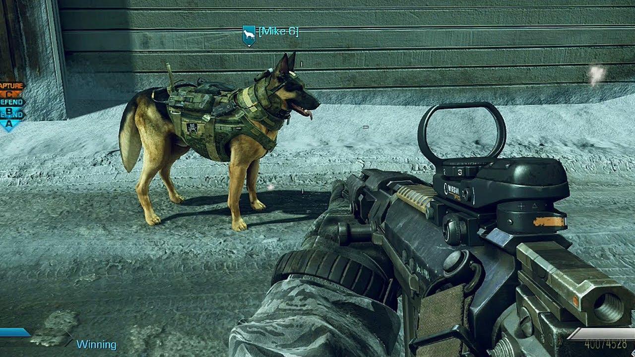 call of duty ghosts guard dog killstreak riley