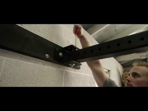 rogue rml 3w fold back wall mount rack
