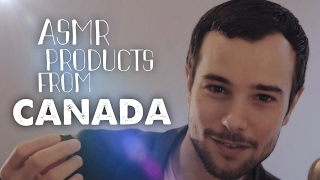 ASMR Products from CANADA (tapping, crinkles, water sounds)