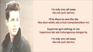 lirik lagu dan terjemahan bahasa indonesia lagu one call away