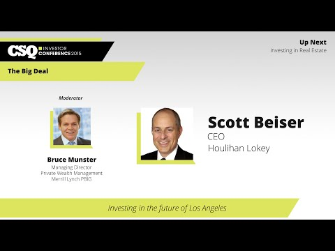 """The Big Deal"" with Scott Beiser, CEO, Houlihan Lokey"