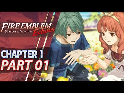 Fire Emblem Echoes: Shadows of Valentia (Hard/Classic) - Part 1 - Prologue & Act 1: Zofia's Call