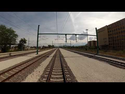 Bulgarian railways cab ride: Septemvri - Plovdiv without intermediate stops @ 150 km/h