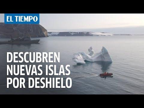 Rusia descubre cinco islas en el Ártico por derretimiento de glaciares