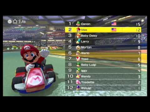 Mario Kart 8 Online Races # 1: Testing it Out