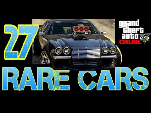 GTA 5 ONLINE - ALL RARE AND SECRET 27 CARS LOCATIONS 1.35 *NEW*