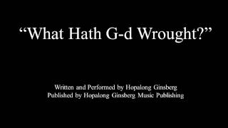 """What Hath G-d Wrought?"" - heavy metal music [Demo] (lyrics in the description)"