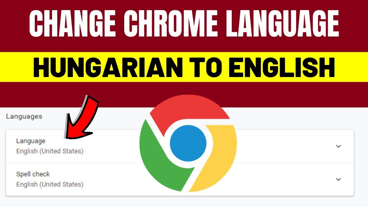 Change Chrome Language From Hungarian