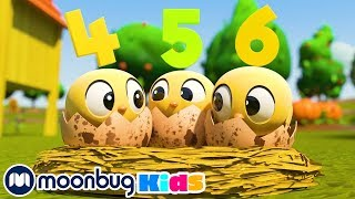 How To Count 10 Little Speckled Eggs | Educational Kids Videos | Fun Learning | ABCs And 123s