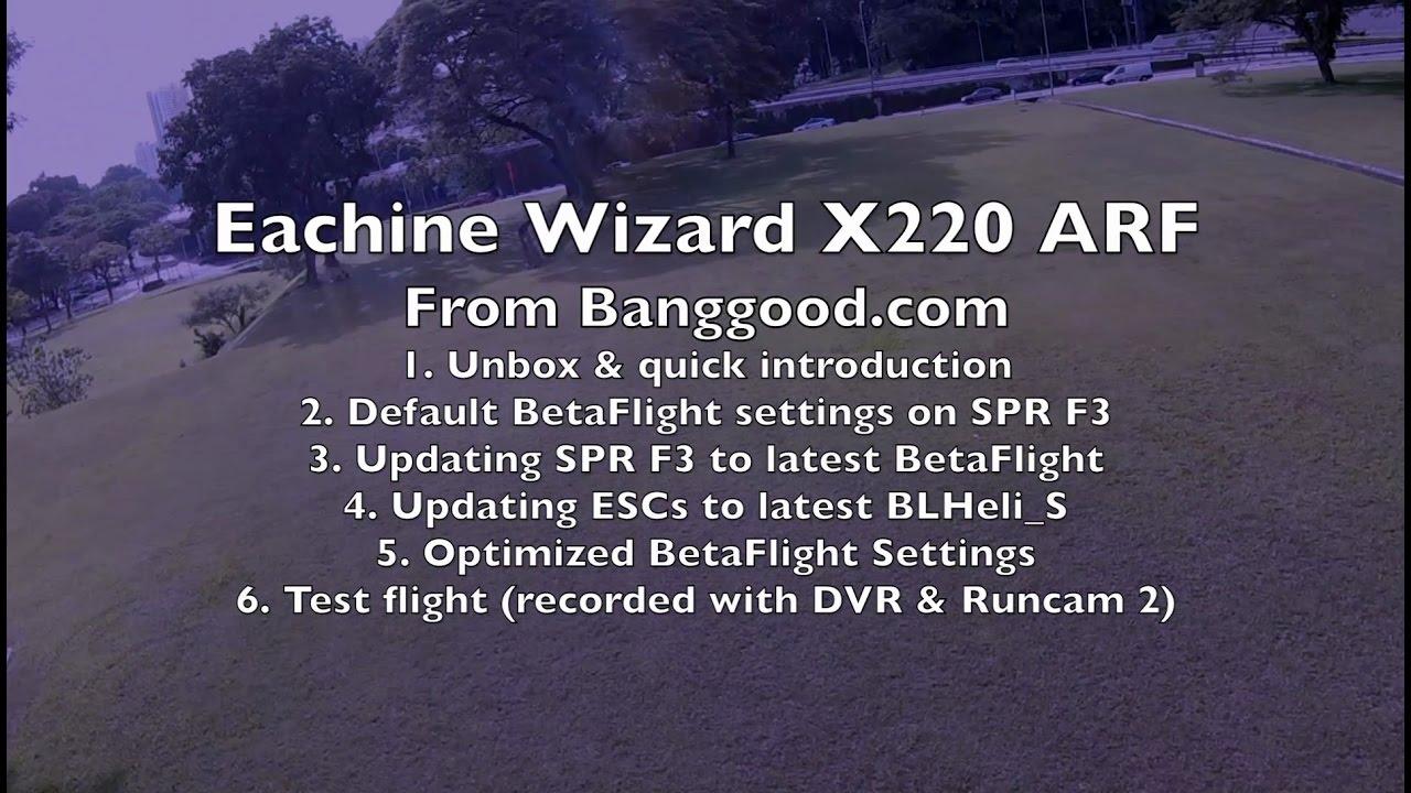 Eachine Wizard X220 ARF Review
