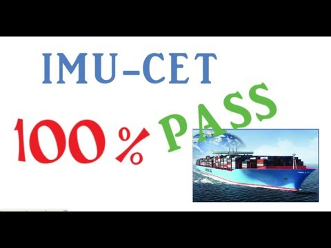 How to crack IMUCET exam , Merchant Marine / Maritime Engineering