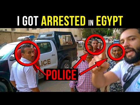 Getting Arrested in Egypt