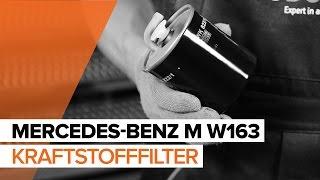 MERCEDES-BENZ ML-Klasse selber reparieren - Auto-Video-Anleitung