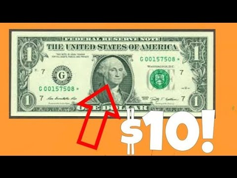Common $1 Bills Worth Good Money!! | Valuable Star Notes!