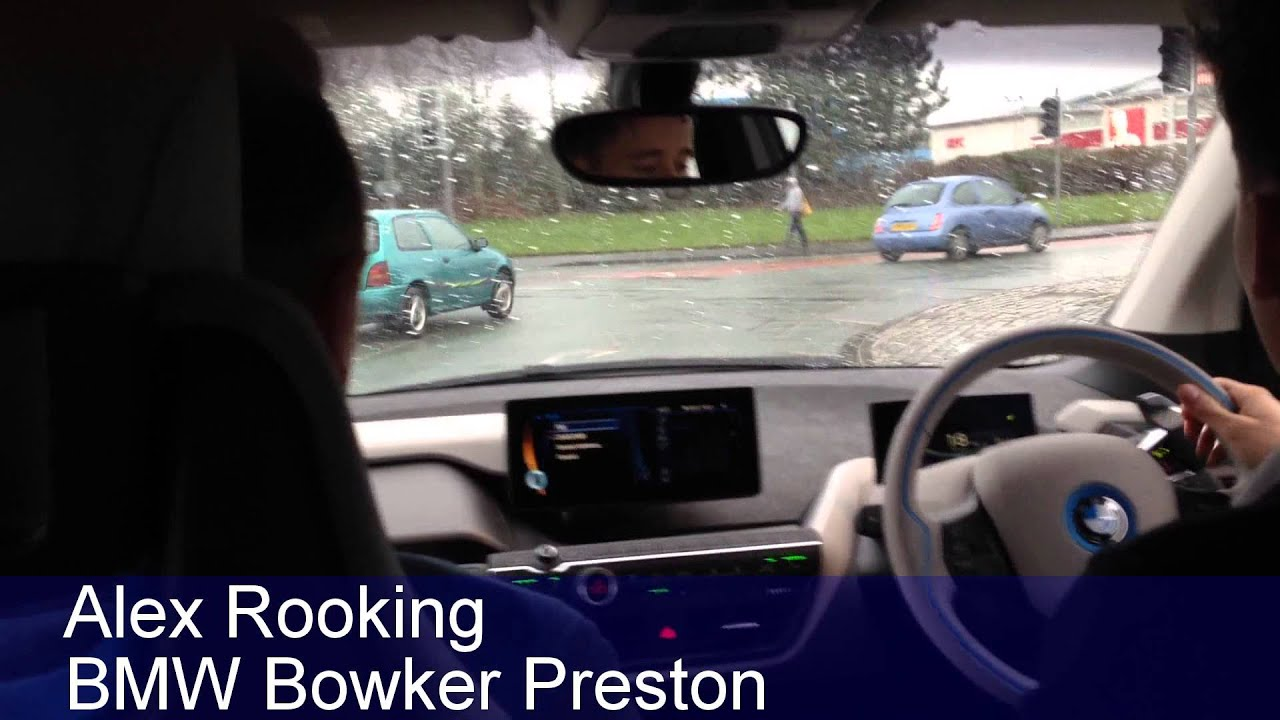 Alex Rooking from BMW Bowker Preston drives the new i3 and talks