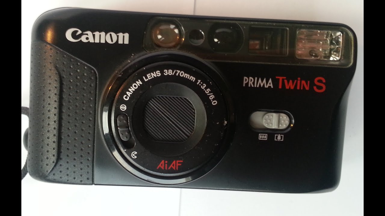 Canon Prima Twin S Film Camera - YouTube