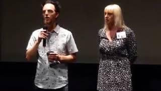 Gavin Freitas introducing his June Foray documentary