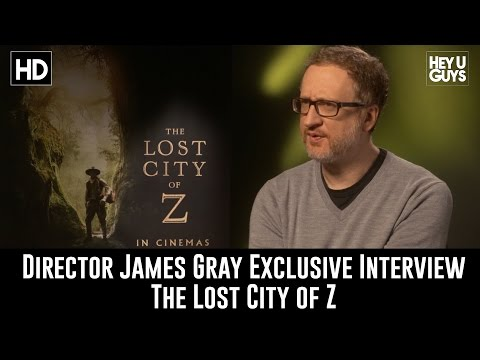 Director James Gray Exclusive Interview - The Lost City of Z