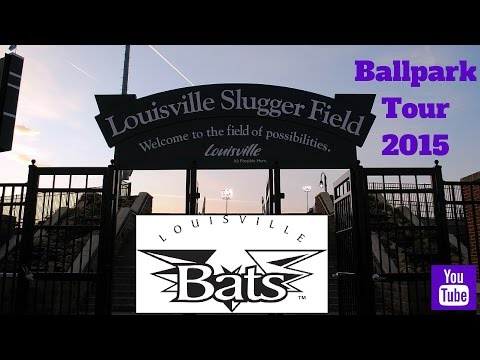 Louisville Slugger Field Tour 2015 - Home Of The Louisville Bats