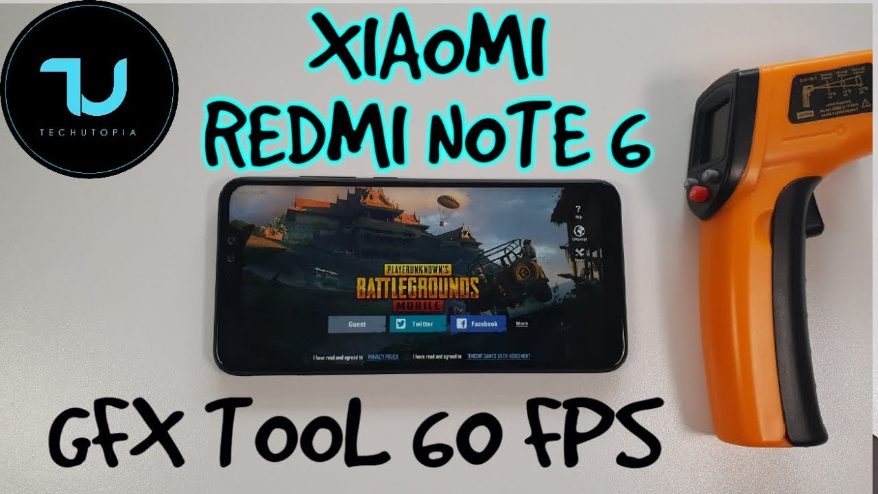 Xiaomi Redmi Note 6 Pro PUBG Mobile GFX Tool 60 FPS/HD/Snapdragon 636  Gameplay