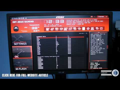 How to manually set your DRAM Memory Frequency Speed & Voltage