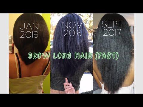 HOW I GREW MY HAIR LONG & FAST