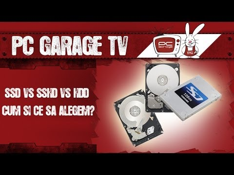 PC Garage TV - SSD vs SSHD vs HDD - Cum si ce sa alegem?
