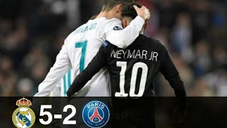 Real Madrid vs PSG 5-2 - Goals & Higlights w\ English Commentary | UCL 2017/18 1080p HD