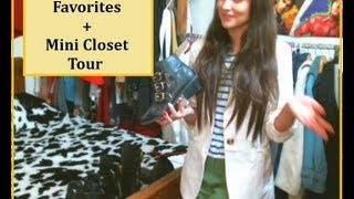 My 2013 Winter Favorites + Mini Closet Tour II Clothed For Winter Thumbnail