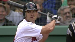 4/1/02: facing chris carpenter, johnny damon records his first hit as a member of the red soxabout major league baseball: baseball (mlb) is ...