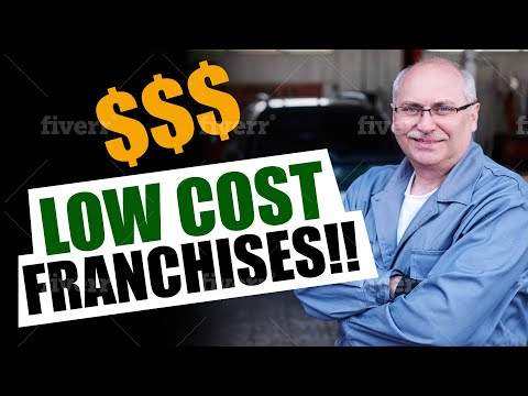 5 Low Cost Franchise Ideas (2019)