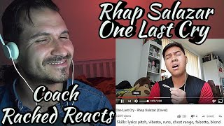 Vocal Coach Reaction + Analysis (+ Falsetto Master) - Rhap Salazar - One Last Cry