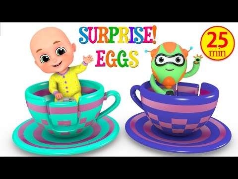 Kids Toys - Amusement park Cup Ride | Surprise Eggs Toy from Jugnu Kids