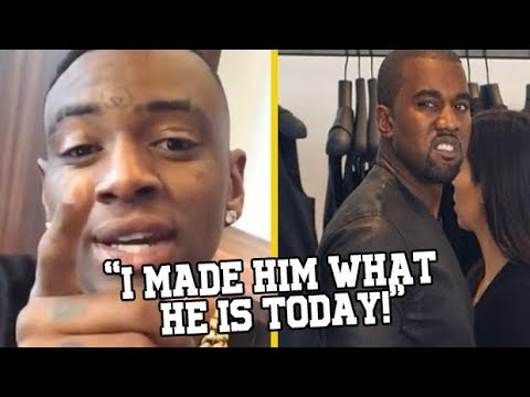 Soulja Boy Says He's The Reason Kanye West Acts The Way He Do!