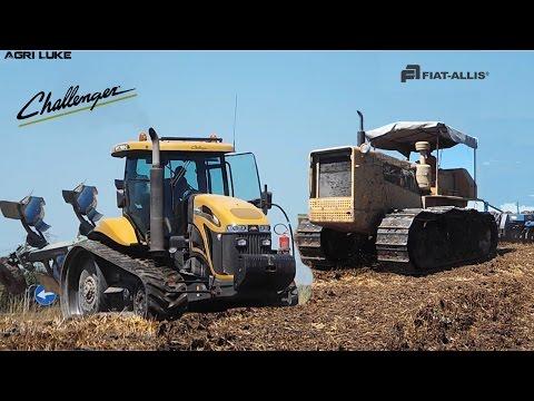 Challenger MT765C & Nardi   Fiat-Allis AD18 & Nardi   Plough / Tillage   Interramento & Aratura