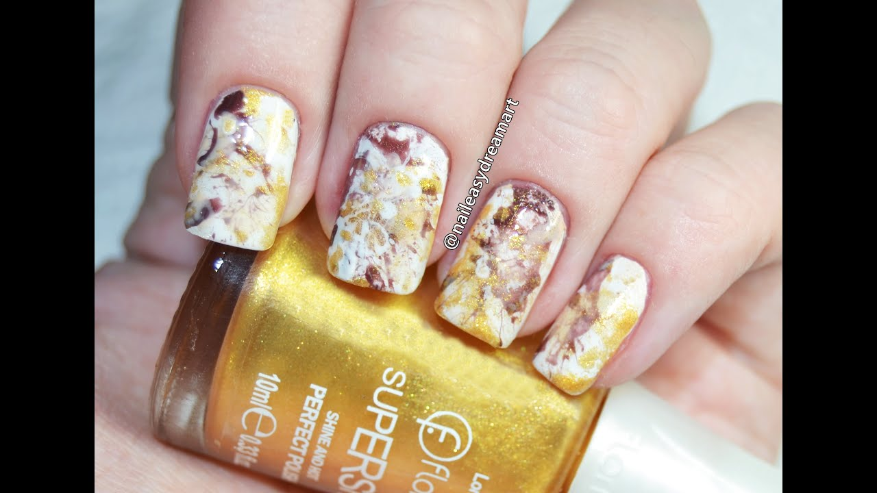 Gold splatter nail art tutorial diy easy splatter nails youtube gold splatter nail art tutorial diy easy splatter nails prinsesfo Image collections