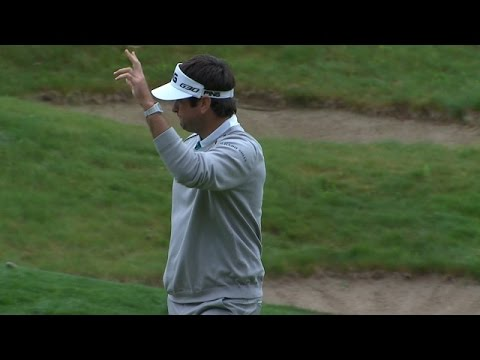 Bubba Watson makes something out of nothing on No. 13 at Travelers