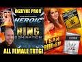 HEROIC RING DOMINATION UNLOCKED! INZAYNE PRO! TITAN PLATINUM PACK OPENING! Noology WWE SuperCard S4!