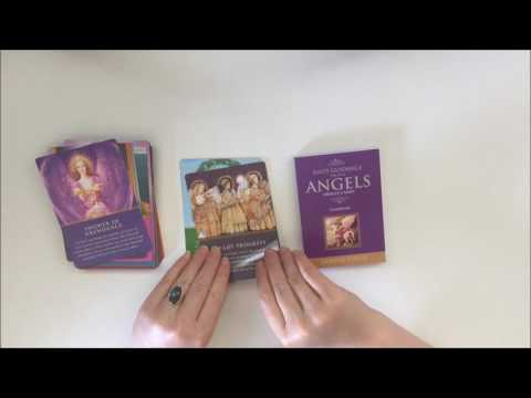 New Oracle Deck: DAILY GUIDANCE FROM YOUR ANGELS // Interview Spread