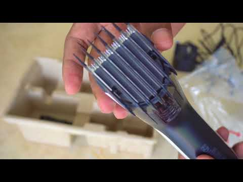Philips Hair Clipper Trimmer Unboxing and Review