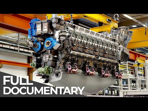 Exceptional Engineering | Mega Diesel Engine | Free Document