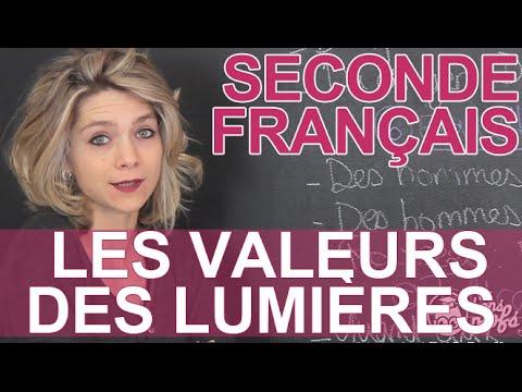 L'argumentation au 18e : les valeurs des Lumières - Français - Seconde - Les Bons Profs