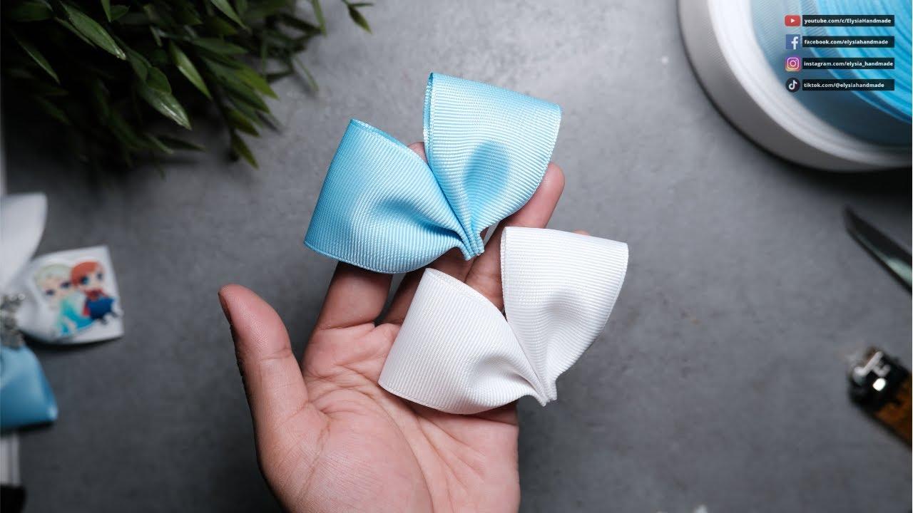 Simple Bow Frozen #ElysiaHandmade